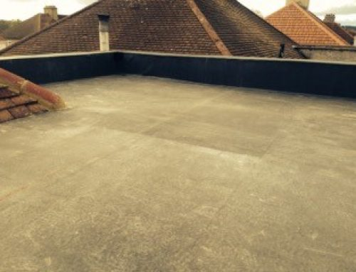 Another Completed EPDM Project