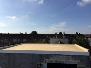 Flat roofing in Gravesend