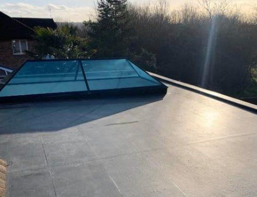 Lovely Finish Flat Roof Skylight